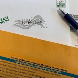 Mail or drop off your absent voter ballot to your local clerk