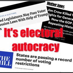 It's electoral autocracy – with special guest Sarah Kendzior